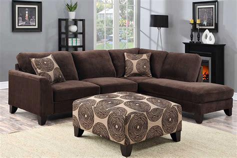 Malibu Brown Sectional  The Furniture Shack Discount