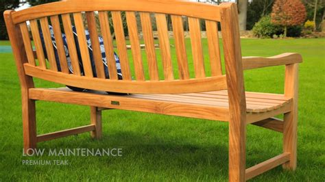 The Lymington Garden Bench. Garden Furniture By Direct