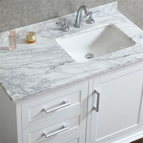 white bathroom cabinet ideas ace 42 inch single sink white bathroom vanity with mirror