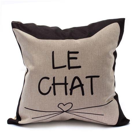 taie coussin canapé housse de coussin taie oreiller canapé déco maison cushion
