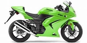 Kawasaki Ninja 250r Service Manual And Parts List  2008
