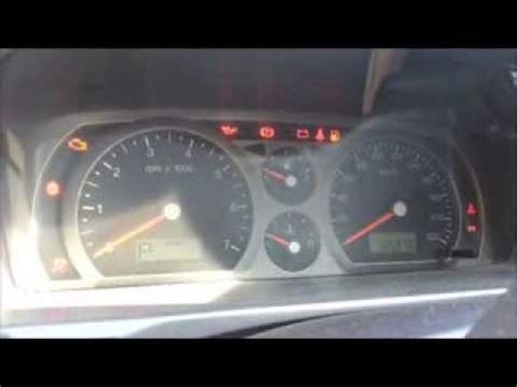 ford warning lights ford falcon au dashboard warning lights