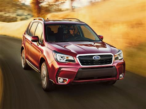 subaru forester red 2017 2017 subaru forester review and information united cars
