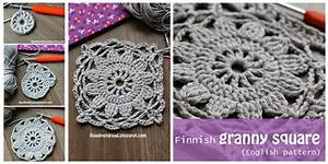 Crochet Granny Square from Frozen Finland [Easy Free