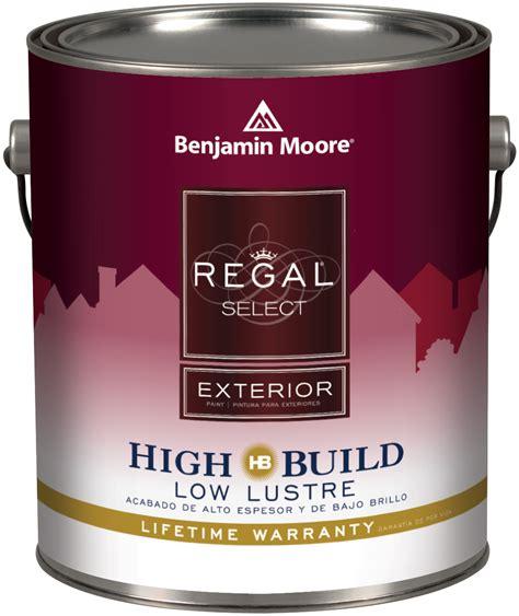 benjamin regal select exterior high build paint at
