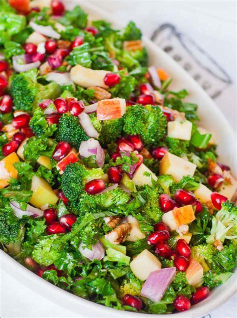 pomegranate kale salad video tatyanas everyday food