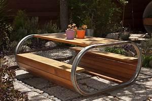 mobilier de jardin couleurs tout With mobilier de jardin contemporain
