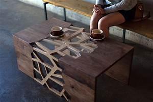 Table Basse Design Bois : table basse scandinave pour cr er un int rieur nordique ~ Teatrodelosmanantiales.com Idées de Décoration
