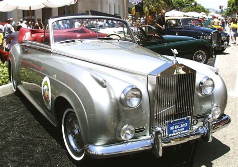 1960 Rolls-royce Silver Cloud Ii Convertible