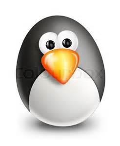 Egg Cartoon Penguins