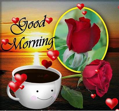 Morning Animation Heart Sweet Romantic Clip Funny