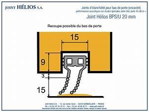 Joint Pour Porte : joint d 39 tanch it pour porte joint helios ~ Nature-et-papiers.com Idées de Décoration