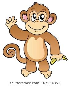 brown zebra print monkey clipart images stock photos vectors