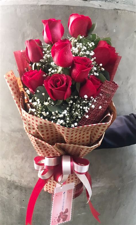 ช่อดอกกุหลาบ วาเลนไทน์ ส่งฟรี - Kakaiflorist
