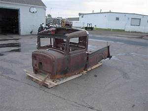 1931 Ford Model A Pickup Parts Car   Ti T Le Cab Box Grill