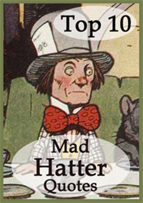 top  mad hatter quotes