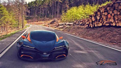 2015 Lada Raven Supercar Concept Wallpaper