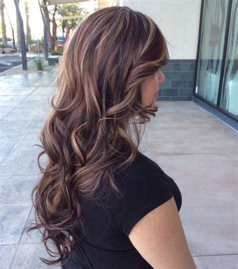hair color ideas  brunettes  highlights   love