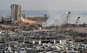 黎巴嫩紅十字會:貝魯特大爆炸 至少100死4000多人受傷   國際焦點   國際   經濟日報