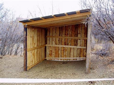 17 Best Images About Rustic Horse Shelter On Pinterest