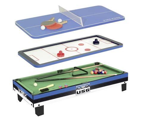 Table De Jeux 3 En 1 10085