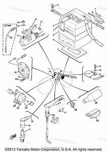 Yamaha Motorcycle 1970 Oem Parts Diagram For Electrical  Ct1b  U0026 At1bmx