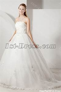 cheap strapless princess wedding dress with corset1st With cheap corset wedding dresses