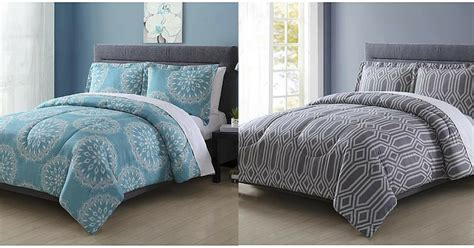 sears 18 colormate microfiber 3 pc comforter sets 40