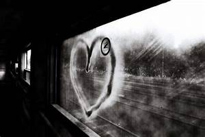 abandoned, black and white, cute, heart, love - image ...