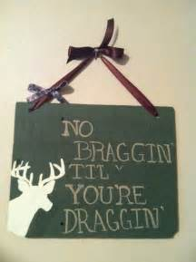 Deer Hunting Signs Decor