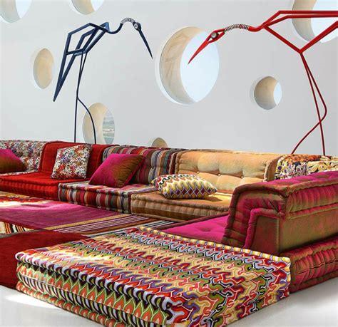 salon marocain canapé le canapé marocain qui va bien avec votre salon canapé