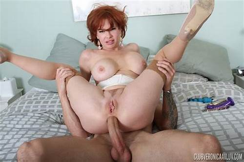 British Old Double Penetrated #Mature #Redhead #Milf #Enjoying #Double #Penetration