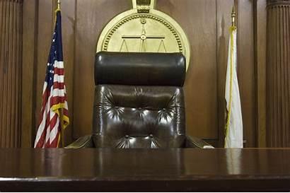 Judge Court Chair Judges Probate Empty Florida