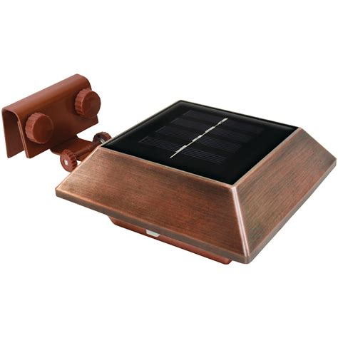 colored solar lights ecothink 155031 mount colored solar gutter lights
