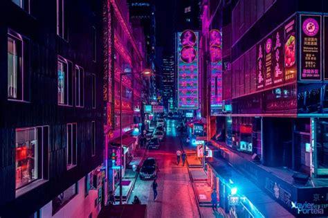hong kongs fading neon lights  change
