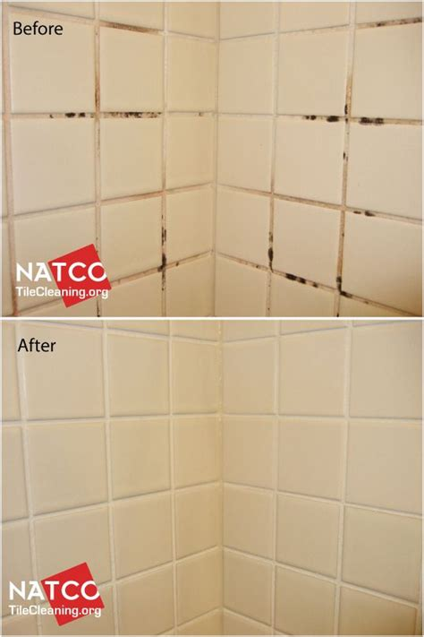 Bathroom Shower Grout Cleaner by Colorsealing A Shower With Moldy Grout White Grout Mold