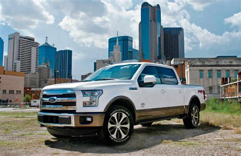 2017 Ford F-150 Towing And Payload Capacities