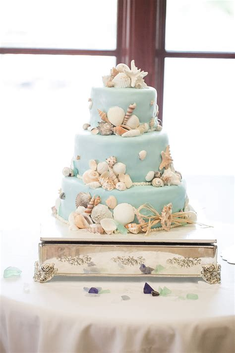 50 Beach Wedding Cakes For Your Vows By The Sea Mon