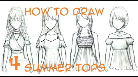 Summer Outfit Drawings