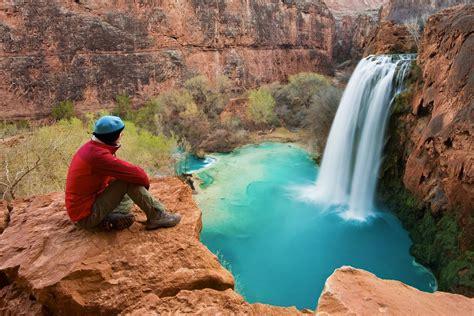 How To Reach The Waterfalls Of Havasu Creek Mountainzone