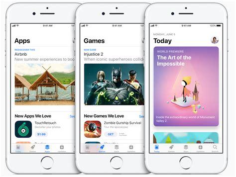 apple reveals redesigned app store  ios   design