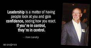 TOP 25 QUOTES B... Tom Landry Inspirational Quotes