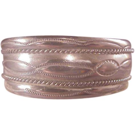 vintage sterling navajo cuff tahe from albie on ruby