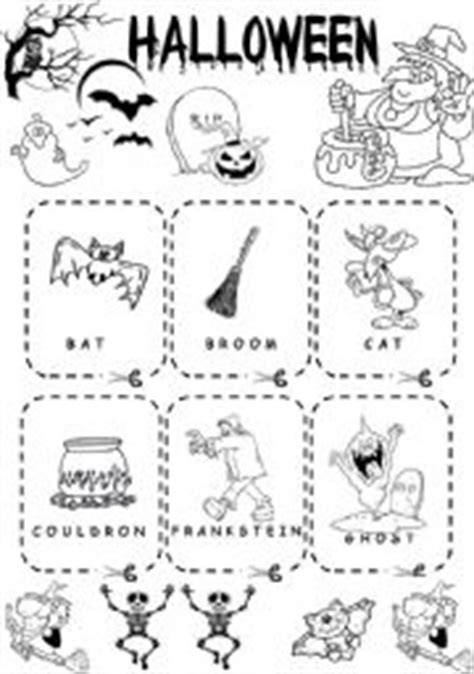 Halloween Flashcards  Memory Game  Esl Worksheet By Lolelozano