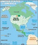 North Dakota Latitude, Longitude, Absolute and Relative ...