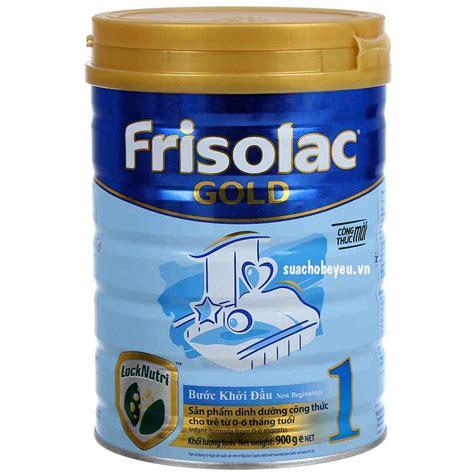 frisolac gold 1 900 gr rajasusu sữa frisolac gold 1 lon 900g 0 6 tháng tuổi suachobeyeu vn