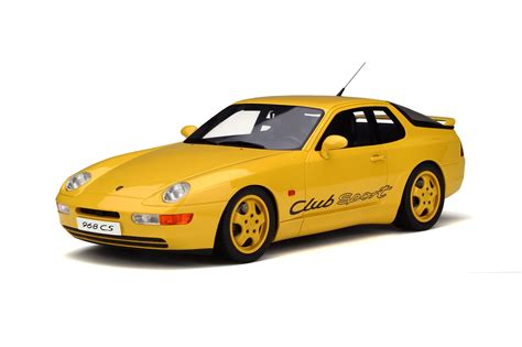 Porsche Model Cars by Porsche 968 Club Sport Model Car Collection Gt Spirit