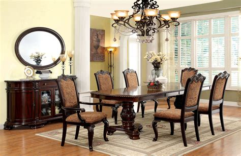 Furniture Of America Bellagio 7pc Dining Room Set The