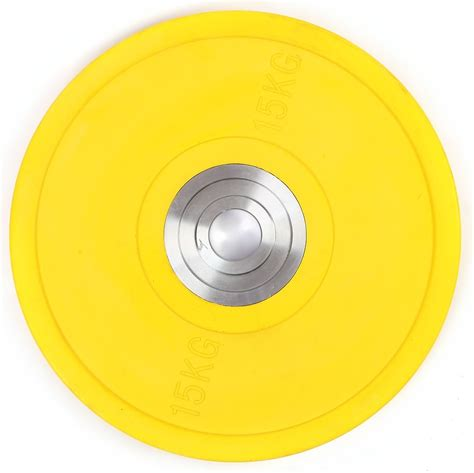 kg pro olympic rubber bumper weight plate sports fitness weights
