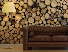 log home interior walls cool idea a city friendly solution for a woodsy visual 11 covering and fabrics